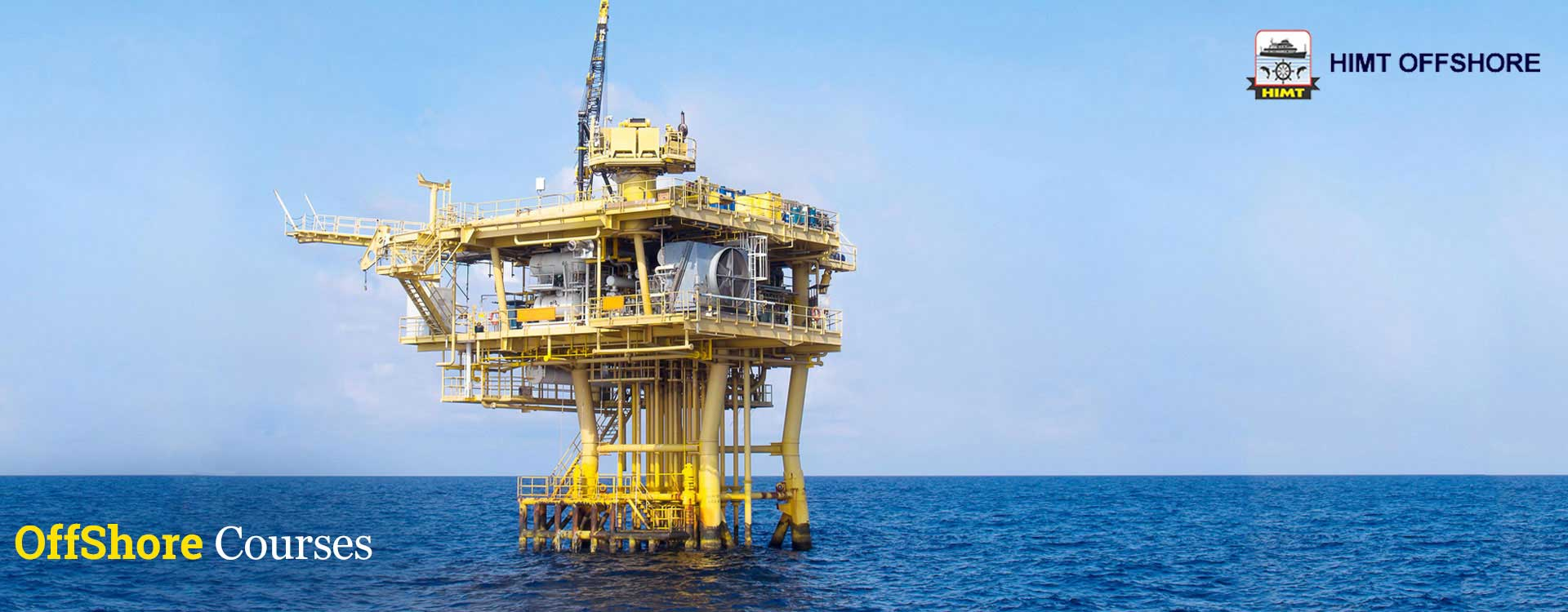 HIMT Offshore training, Offshore Courses, HIMT college